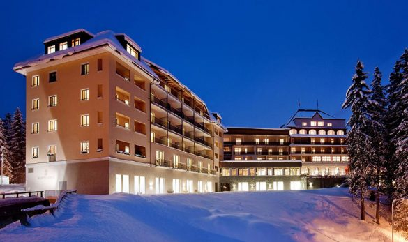 Waldhotel in Arosa