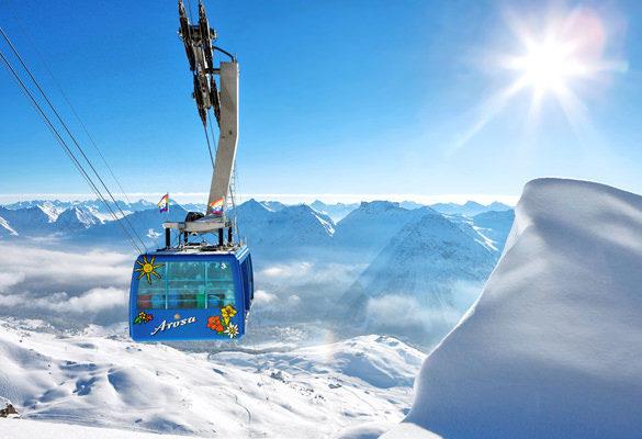 Arosa ski paradise